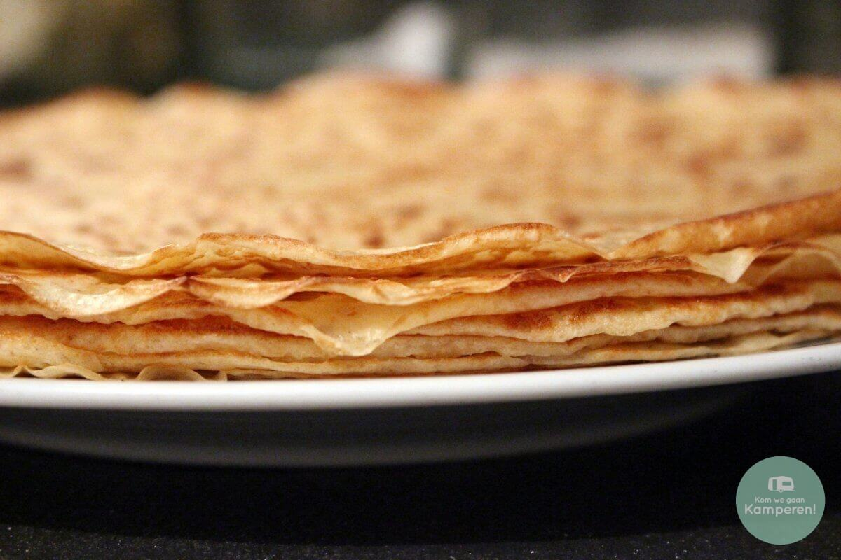 Pannenkoeken stapel recept
