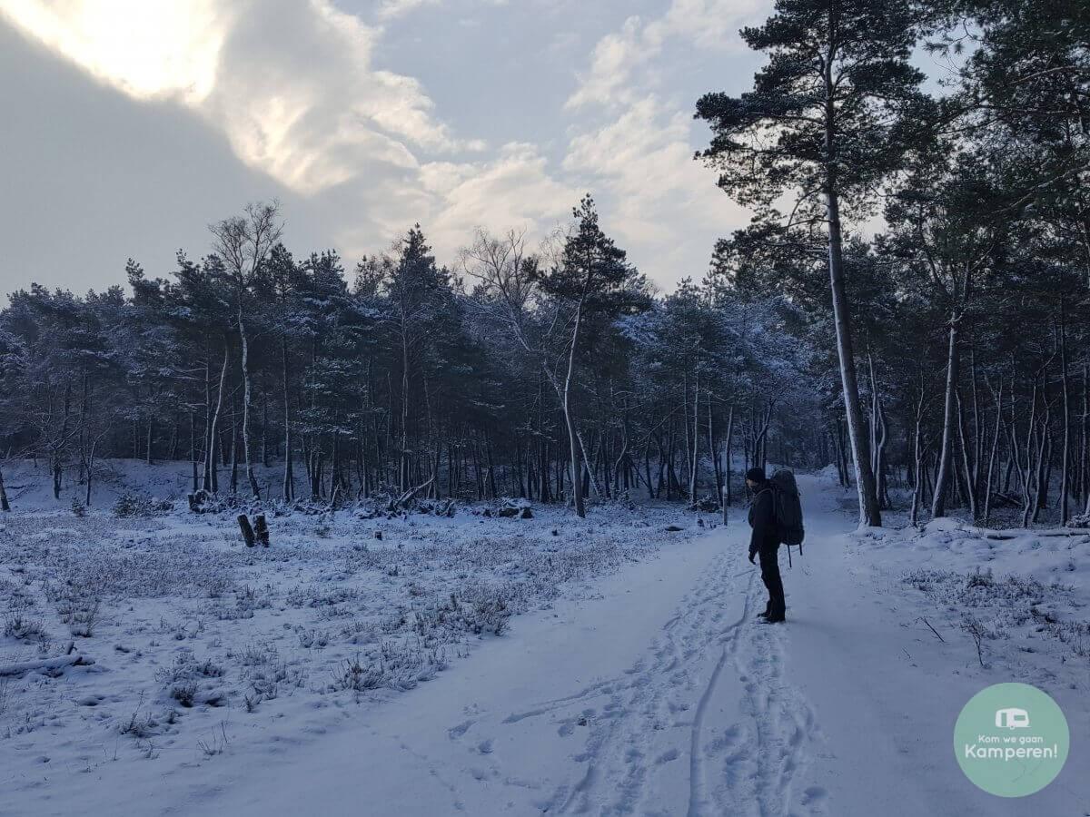 Sneeuw Backpack trekkerhut Kamperen
