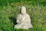 Zen worden van kamperen buddha