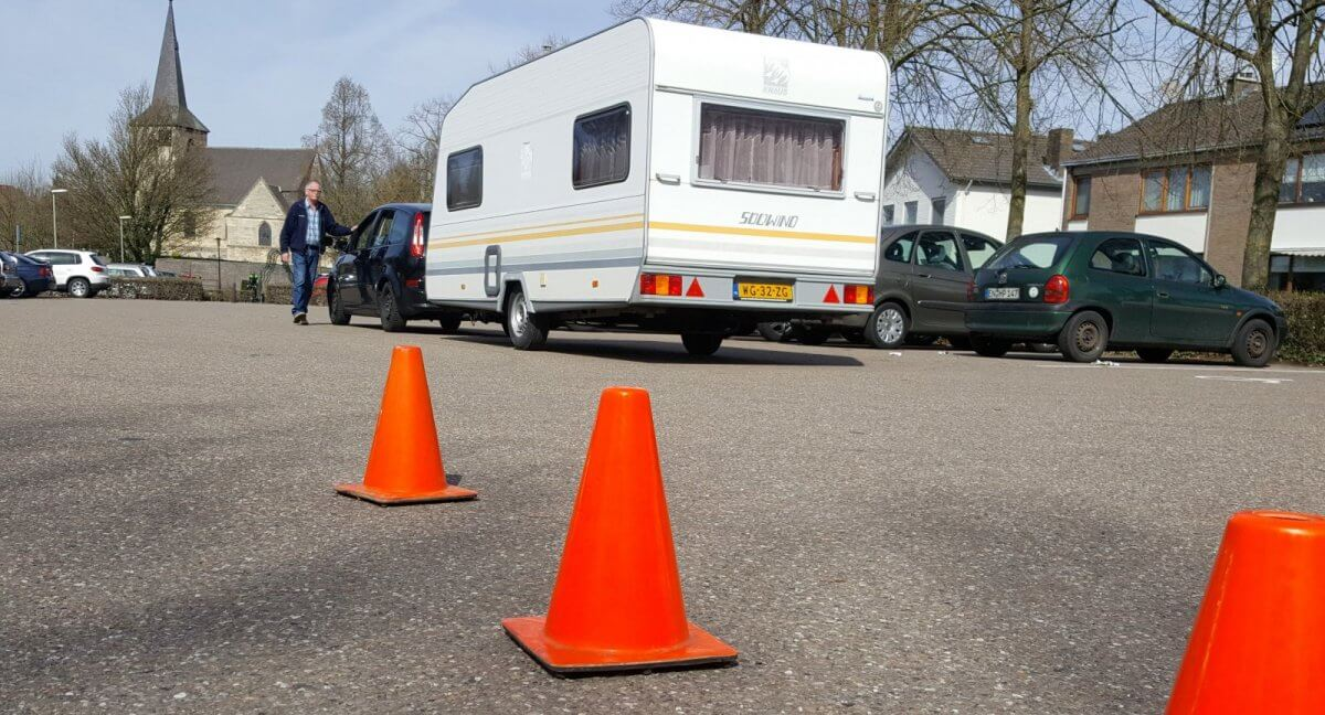 Caravantraining Caravan Pionnen