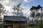 Zandstuve Verandalodge Camping Glamping Hardenberg