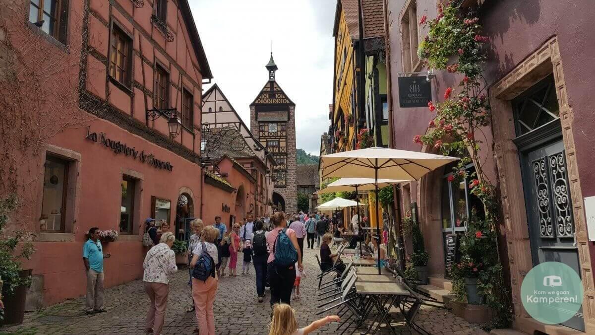 Riquewihr Elzas Alsace Route des Vins Toeristisch