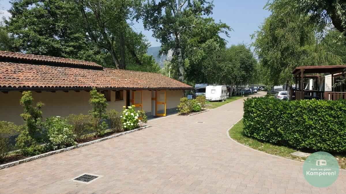Camping Sanitairgebouw
