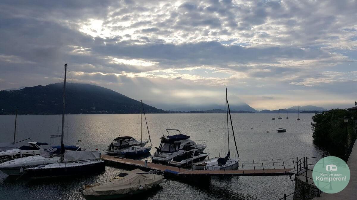 Lago Maggiore Meer Bootjes