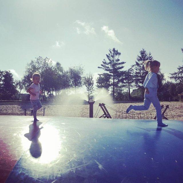 Super air trampoline! stoetenslagh suncamp kamperen rheezerveen komwegaankamperen airtrampoline luchtkussenhellip