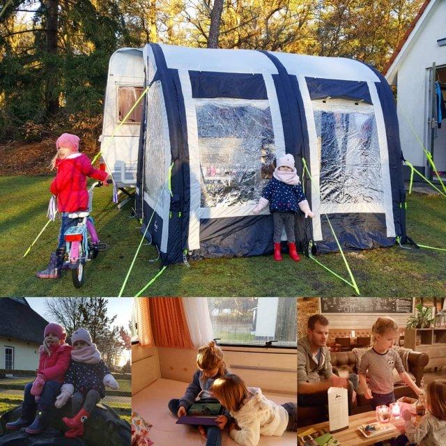 Weekendje winterkamperen met onze nieuwe opblaasvoortent Ideaal voor korte tripjeshellip